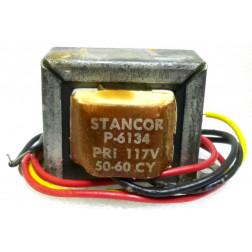 P-6134 Low voltage transformer, 117VAC, 6.3v C.T., 1.2 amp, Stancor