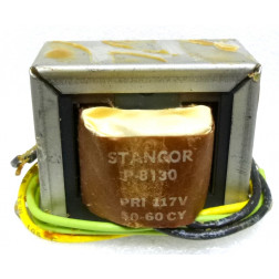 P-8130 Low voltage transformer, 117VAC, 12.6v C.T., 2 amp, Stancor