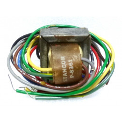 P-8361 Transformer, Single Primary, Multiple Secondaries, 117VAC, 12v, 0.1 amp, Stancor