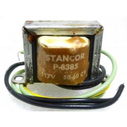P-8385 Low voltage transformer, 117VAC, 6.3v C.T., 0.3 amp, Stancor