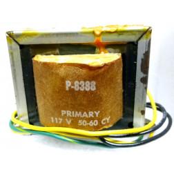P-8388 Low voltage transformer, 117VAC, 25.2v C.T., 2.8 amp, Stancor