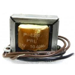 P-8391 Low voltage transformer, 117VAC, 12v, 0.35 amp, Stancor