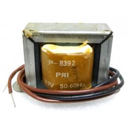 P-8392 Low voltage transformer, 117VAC, 12v, 0.7 amp, Stancor