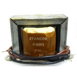P-8393 Low voltage transformer, 117VAC, 12v, 1.2 amp, Stancor