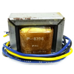 P-8396 Low voltage transformer, 117VAC, 24v C.T., 0.4 amp, Stancor