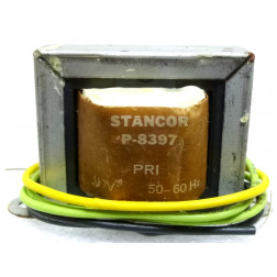 P-8397 Low voltage transformer, 117VAC, 24v C.T., 0.7 amp, Stancor