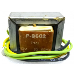 P-8602 Low voltage transformer, 117VAC, 28v C.T., 0.3 amp, Stancor