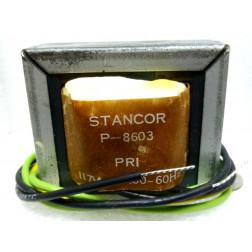 P-8603 Low voltage transformer, 117VAC, 28v C.T., 0.8 amp, Stancor