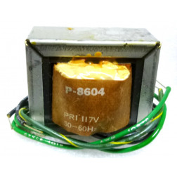 P-8604 Low voltage transformer, 117VAC, 20v C.T., 1 amp, Stancor