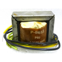 P-8612 Low voltage transformer, 117VAC, 36v C.T., 0.3 amp, Stancor