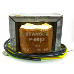 P-8613 Low voltage transformer, 117VAC, 36v C.T., 0.55 amp, Stancor