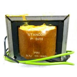 P-8658 Low voltage transformer, 117VAC, 12v, 4 amp, Stancor