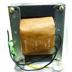 P-8673 Low voltage transformer, 117VAC, 36v C.T., 4 amp, Stancor