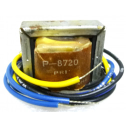 P-8720 Low voltage transformer, 230VAC, 24v C.T., 0.85 amp, Stancor