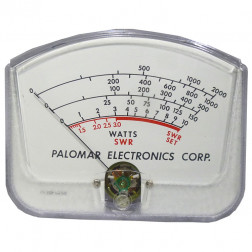 PALOMETER2K   Replacement Meter for Palomar 2k Wattmeter