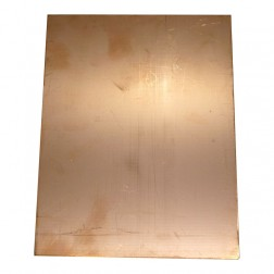 "PC16X4.5  Copper Board, Double Sided 16"" x 4.5"""