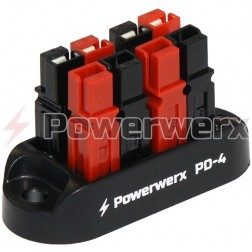 PD-4   4 Position Power Distribution Block for 15/30/45A Powerpoles