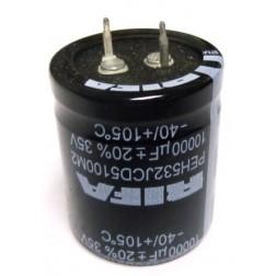 PEH532JCD5100M2  Snap Lock Capacitor, 10000uf 35v, RIFA