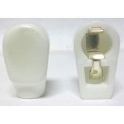 PLCAP3  Ceramic Plate cap for tubes with plate diameter of 0.25""