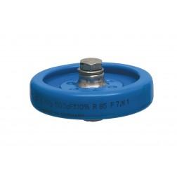 PS55-500P Doorknob Capacitor, 500pf 5kv,  Draloric (Clean Used)