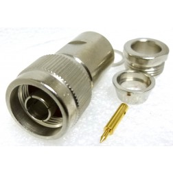 R161018000  Type-N Male Clamp Connector, Cable Group E, Radiall