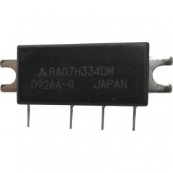 RA07H3340M Mitsubishi RF Power Module 330-400 MHz 7 Watt 12.5v (NOS)