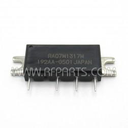 RA07M1317M-501 Mitsubishi RF Power Module 135-175 MHz 6.5W 7.2V