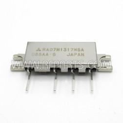 RA07M1317MSA-101 Mitsubishi RF Power Module 130-170 MHz 7W 7.2V METAL CASE (NOS)