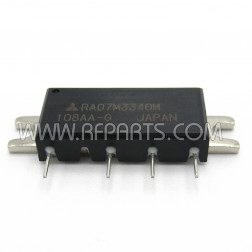 RA07M3340M Mitsubishi RF Module 330-400 MHz 7 Watt 7.2V (NOS)