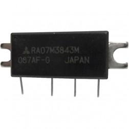 RA07M3843M  RF Power Module, 378-430 MHz, 7 Watt, 7.2v, Mitsubishi