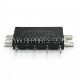 RA07M3843M Mitsubishi RF Module 378-430 MHz 7 Watt 7.2V (NOS)