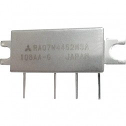 RA07M4452MSA, RF Power Module, 450-520 MHz, 7 Watt, 7.2v, Metal Case, Mitsubishi