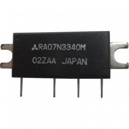RA07N3340M, RF Power Module, 330-400 MHz, 7 Watt, 9.6v, Mitsubishi