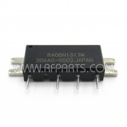 RA08N1317M-502 Mitsubishi RF Module 135-175 MHz 8 Watt 9.6V