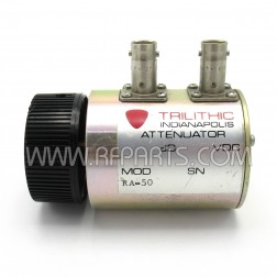 RA50BNC Trilithic Rotary Attenuator 2 watt 0-10db / 1 db steps DC-2 GHZ (Pull)
