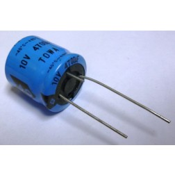 4700-10R Electrolytic Capacitor, 4700uf 10v, Radial Lead, Towa