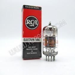 5751 RCA Command Electron Tube Black Plate (NOS/NIB)