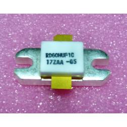 RD60HUF1C  Transistor, 60 watt, 520 MHz, 12.5v, Mitsubishi