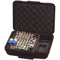 RFA4020  Unidapt Mega Kit, 70 PCS;  Hinged Case, RFA-4020, RFI