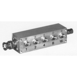 RFA4056-03 Attenuator Switch, 1-30dB, 1 watt,  BNC Male/Female,