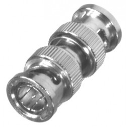 0-RFB1733 In Series Adapter, BNC Male to Male, 75ohm, RFI