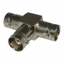 0-RFB1131 In Series Adapter, BNC Triple Female TEE,  RFI