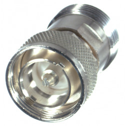 RFD1660-2  7/16 DIN IN Series Adapter Male to Female, Straight, RF Industries