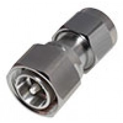 RFD43M-NM  Between Series Adapter, 4.3-10 Male to Type-N Male, RFI
