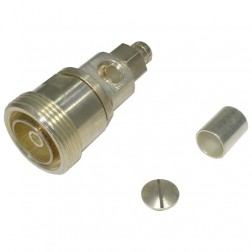 RFD1630-2E 7/16 DIN Female Crimp Connector, Cable Group E,  RFI