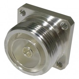RFD1640-2 Connector, 7/16 DIN Female 4 Hole Flange, RF Industries