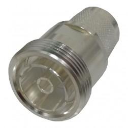 RFD-1672-2 RF Industries 7/16 DIN Between Series Adapter Female to Type-N Male