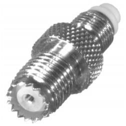 RFE-6152 RF Industries Between Series Adapter FME Female to MINI UHF Female