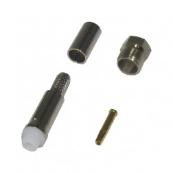 RFE6050-X FME Female Crimp Connector, LMR240, Cable Group: X, RF Industries