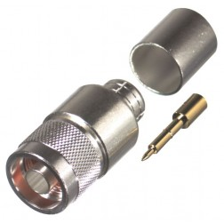 0-RFN1006-2L2 Type-N Male Crimp Connector, Cable Group L2, RFI